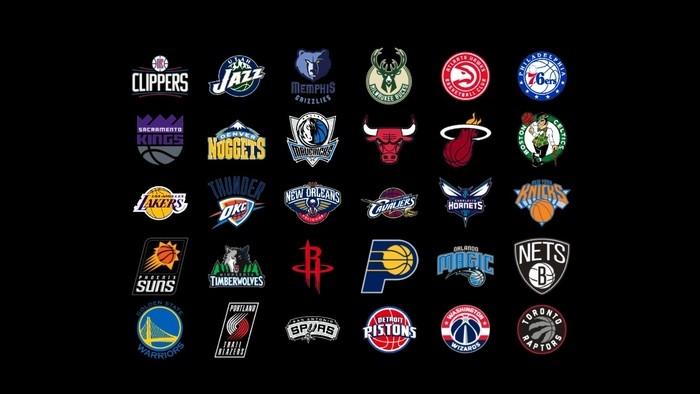 Logos de los equipos de la NBA