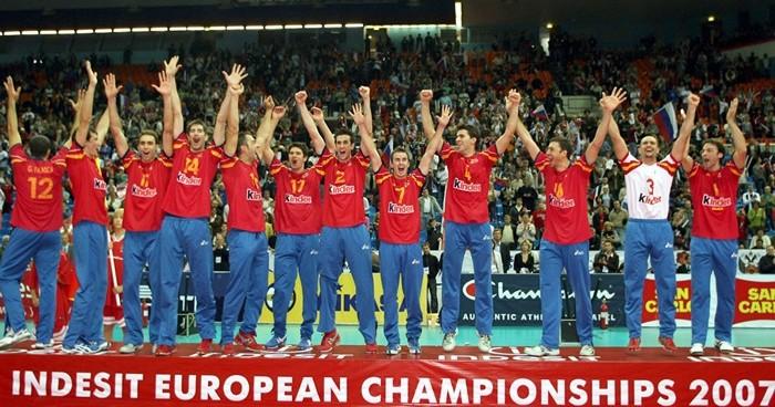 España logró el campeonato de Europa en Moscú