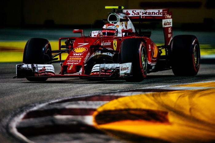 Ferrari en Singapur