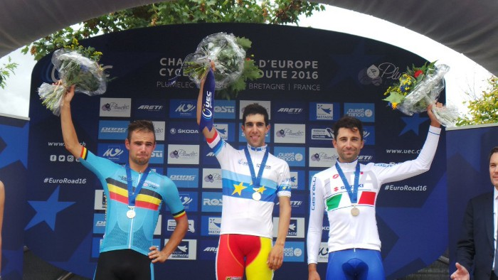 Jonathan Castroviejo se proclama campeón de Europa contrarreloj