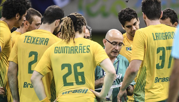 Jordi Ribera cuando era seleccionador de Brasil