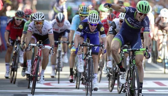 Keukeleire se impuso en el sprint de Bilbao