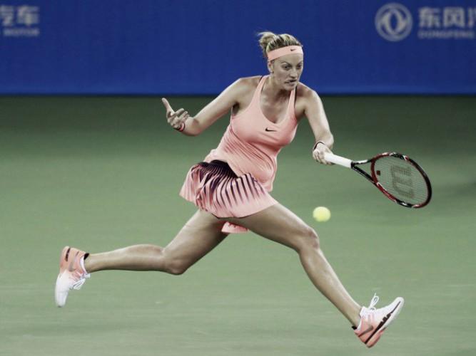 Kvitova derrota a kerber en Wuhan