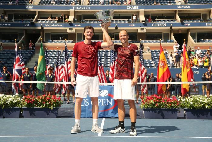 Murray y Soares ganan el US Open de dobles