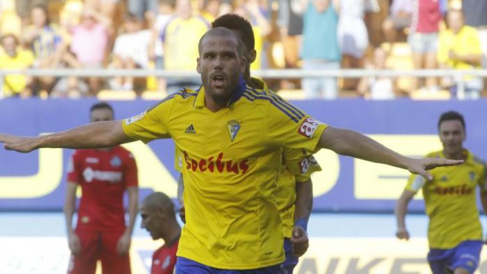 Los goles de Ortuño van a ser muy importantes para el Cádiz
