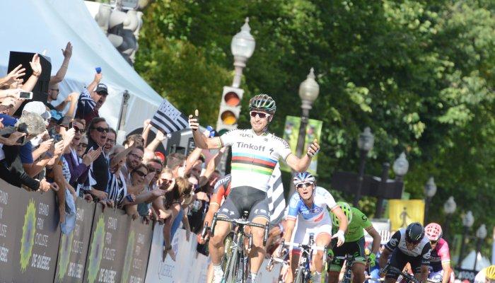Sagan consiguió el triunfo en Quebec