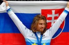 Peter Sagan es el nuevo campeón de Europa de ciclismo, con Dani Moreno tercero