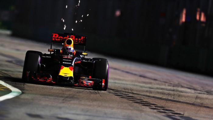 Red Bull F1 en Singapur