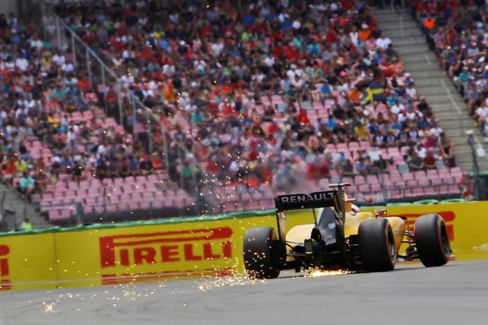 Renault en el GP de Alemania