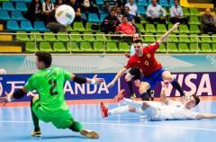 Mundial Fútbol Sala 2016: España a cuartos contra Rusia, Brasil eliminada