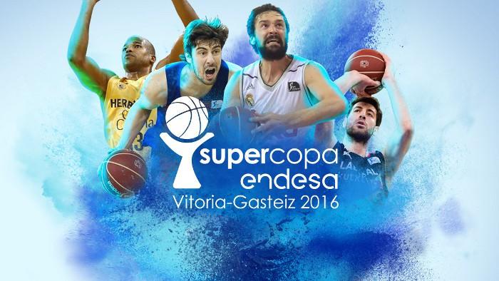 Baskonia, Herbalife, Madrid y Barça juegan la Supercopa 2016