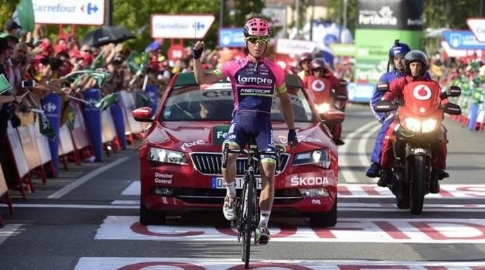 Valerio Conti ganó la etapa más larga de la Vuelta a España 2016