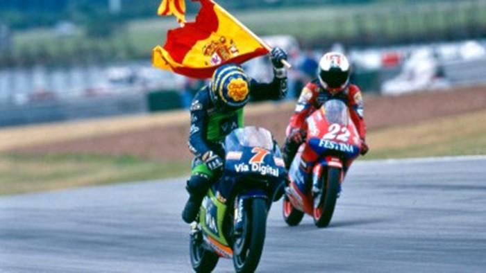 Alzamora se proclamaba campeón de 125 cc