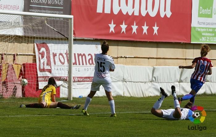 El Atleti goleó al Albacete
