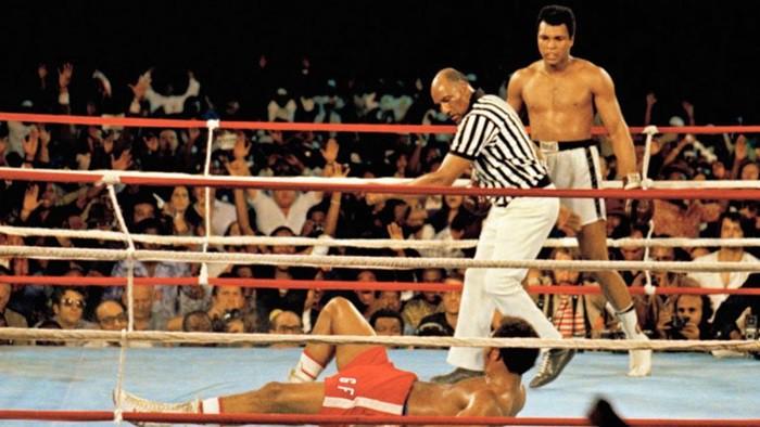 """Tal día como hoy… Muhammad Alí vencía a George Foreman en """"Rumble in the jungle"""""""