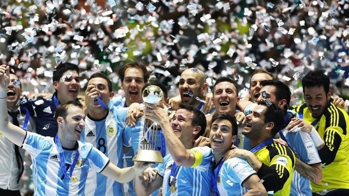 Argentina ganó por primera vez el Mundial de Fútbol Sala