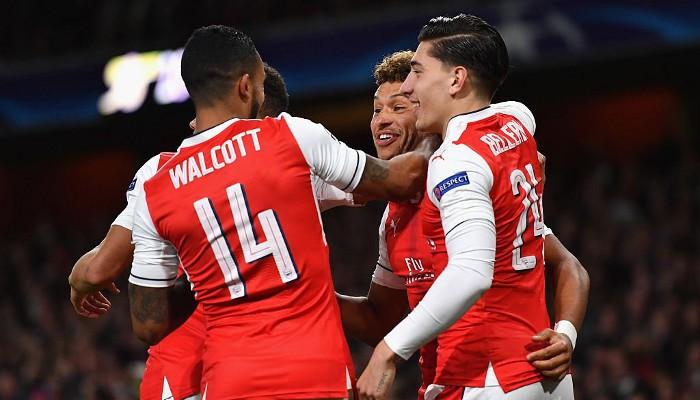 El Arsenal logró la goleada de la jornada