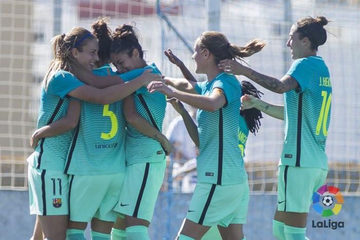 El Barcelona venció en Huelva