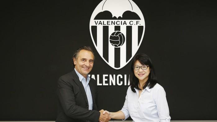 Prandelli es el nuevo entrenador del Valencia