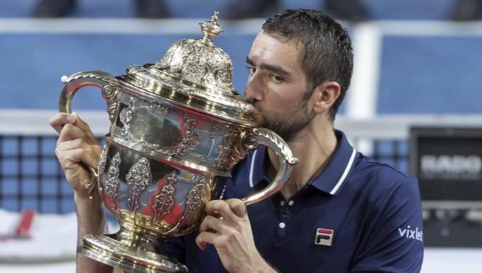 Cilic campeón en Basilea