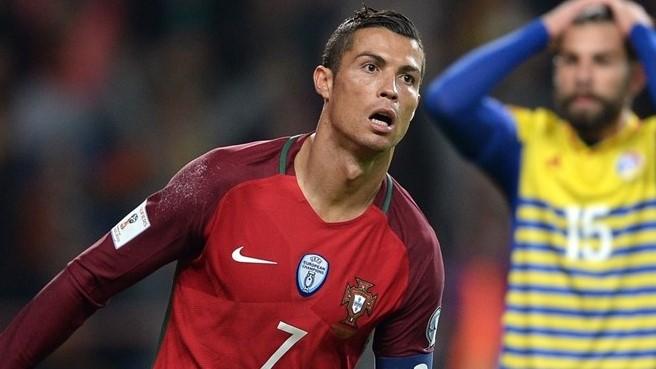 Cristiano le marcó cuatro goles a Andorra
