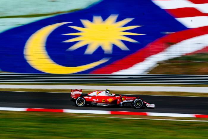 Ferrari en Sepang