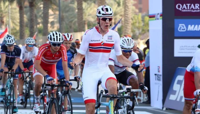 Mundiales de ciclismo 2016: el noruego Halvorsen campeón del mundo sub 23
