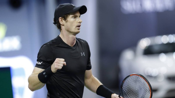 Murray a semifinales en Shanghai