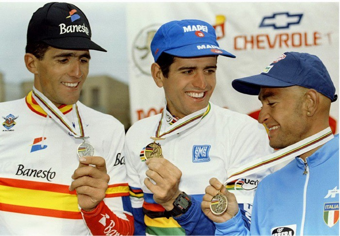 Olano e Induráin conquistan Colombia