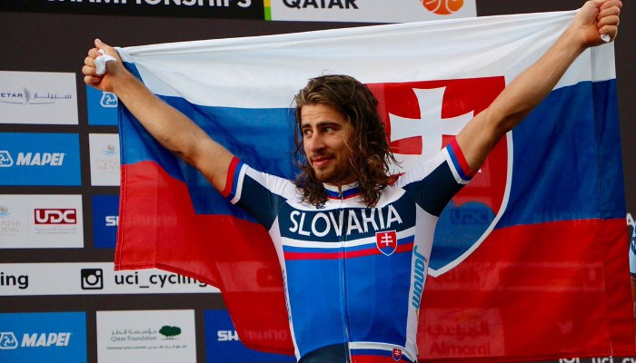 Peter Sagan lidera el ranking UCI de 2016