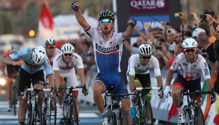Sagan repite como campeón del mundo de ciclismo