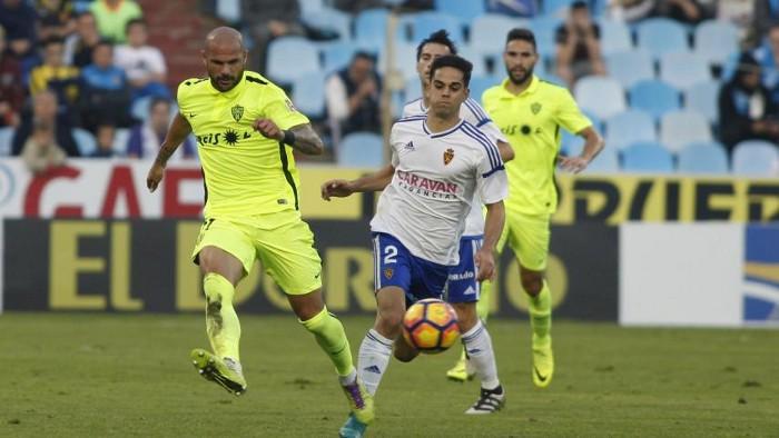Playoffs Ascenso Primera 2015: el Zaragoza gana 3-1 en la ida de la final