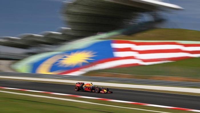Red Bull en Sepang