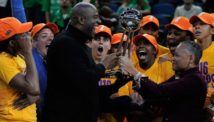 Los Sparks de Los Angeles ganaron el título de la WNBA de 2016