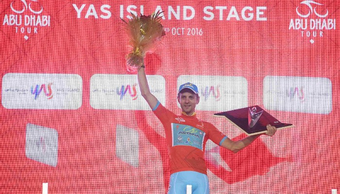 Kangert ganó en el Abu Dhabi Tour 2016