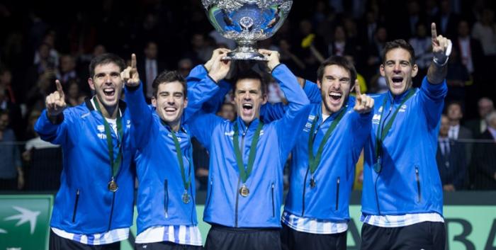 Argentina campeón de la Copa Davis
