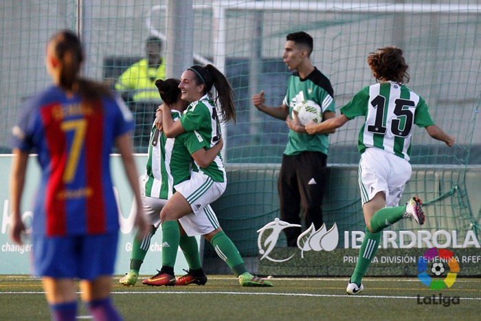 El Betis sorprendió al Barça