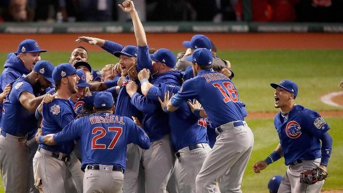 Los Chicago Cubs ganaron las Series Mundiales de beisbol de 2016