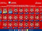 Convocatoria de la selección española para los partidos ante Macedonia e Inglaterra