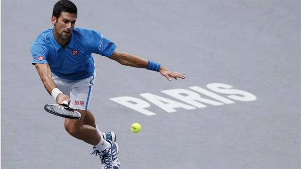 Djokovic a octavos en Paris