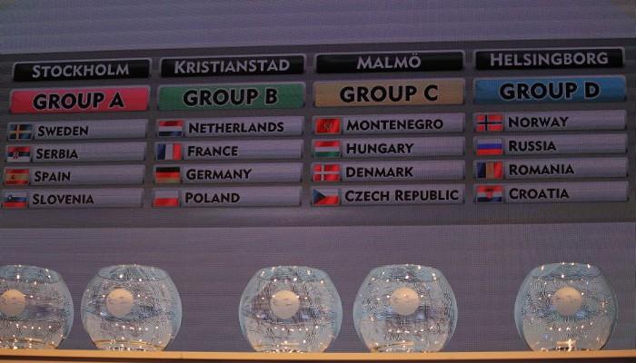 Así quedó el sorteo para el Europeo de balonmano femenino de 2016