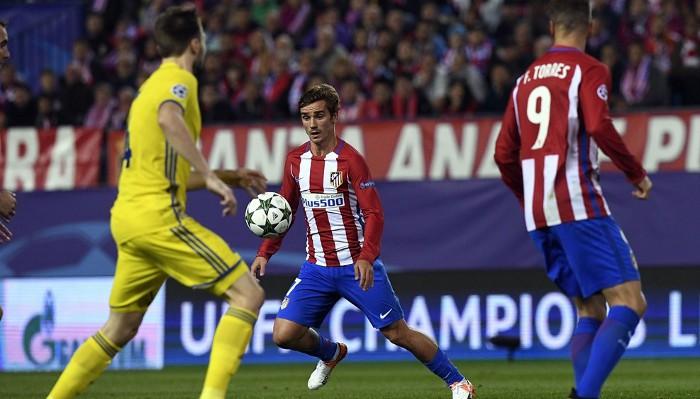 Griezmann marcó en el 94 para darle la victoria al Atlético de Madrid