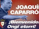Joaquín Caparrós es el nuevo entrenador de Osasuna