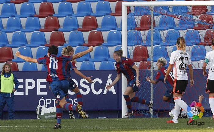 El Levante se llevó el derby valenciano