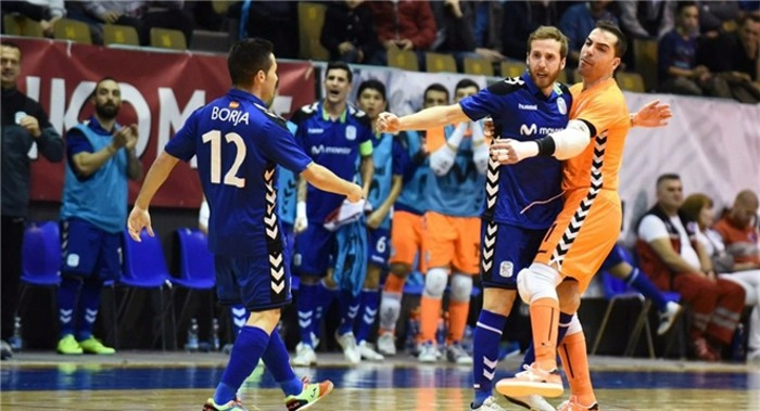 Movistar Inter estará en la Final Four de la UEFA Futsal Cup de 2017