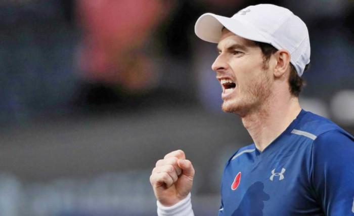 Murray con lo justo ante Verdasco en Paris