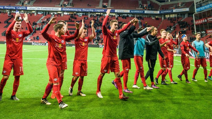 RB Leipzig ha alcanzado el liderato de la Bundesliga
