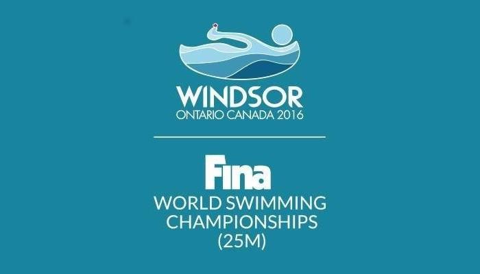 Windsor (Canadá) acoge los Mundiales de natación en piscina corta 2016