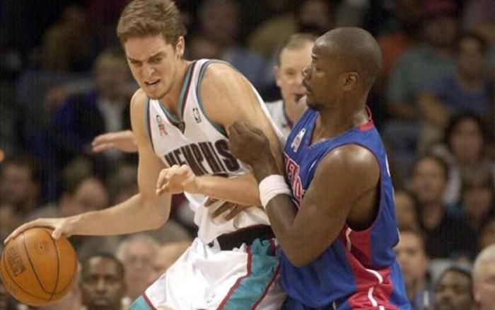 Debut de Gasol en la NBA