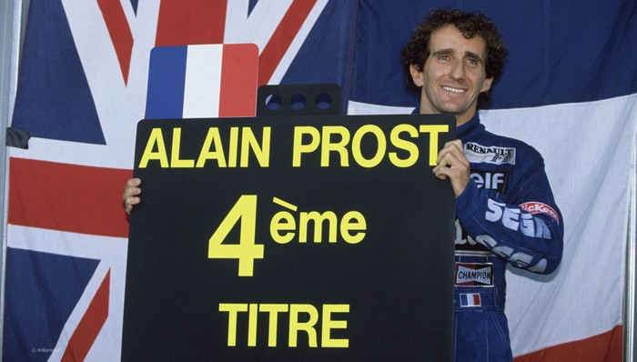 Prost se retiró nada más ganar su cuarto título
